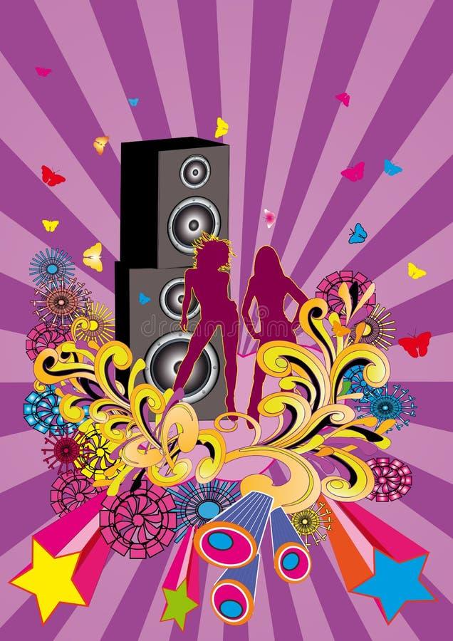 Download Partido do paraíso ilustração do vetor. Ilustração de música - 10051053