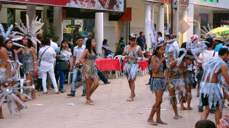 Partido en Trinidad Bolivia, Suramérica foto de archivo