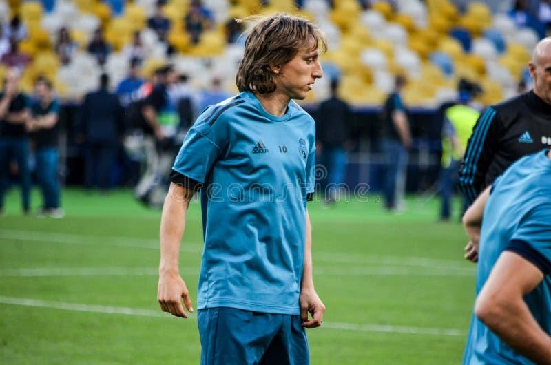 Partido final 2018 de la liga de campeones de UEFA fotos de archivo libres de regalías