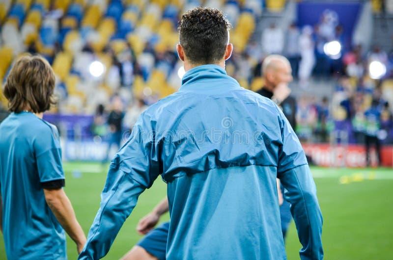 Partido final 2018 de la liga de campeones de UEFA imagenes de archivo