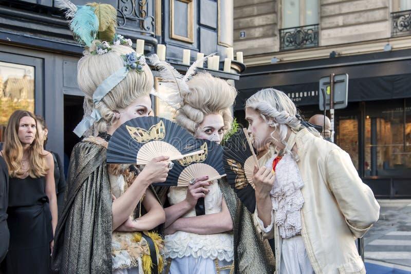 Partido histórico ao longo do Seine, Paris imagem de stock royalty free