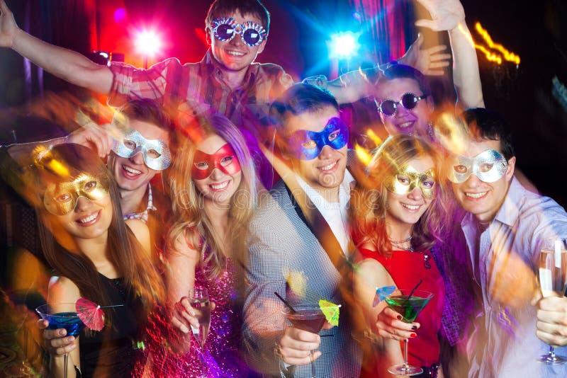 Partido novo fotografia de stock royalty free