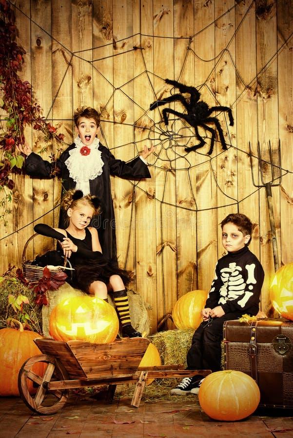 Partido para Halloween foto de archivo