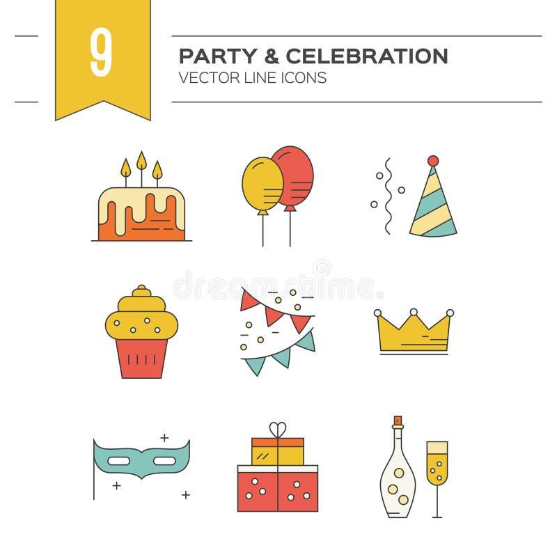 Partido y celebración libre illustration