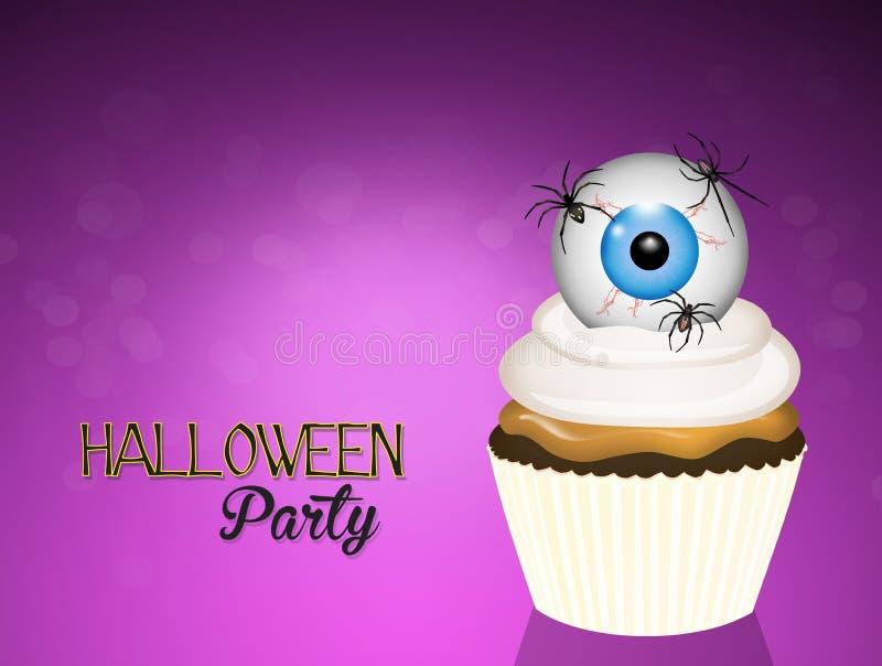 Partie d'invitation de Halloween illustration libre de droits