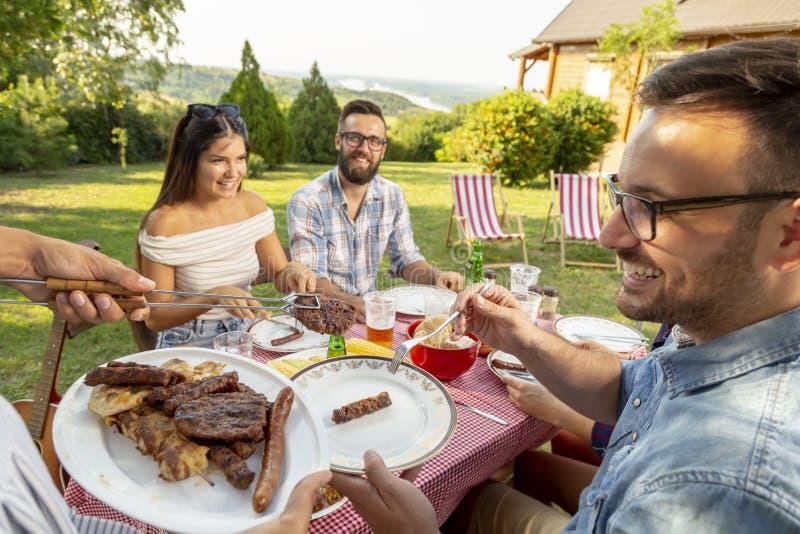Partie de barbecue photographie stock