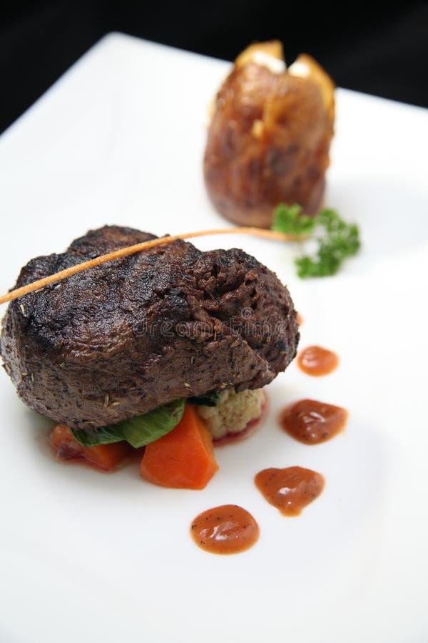 Partie De Bifteck De Filet Images libres de droits