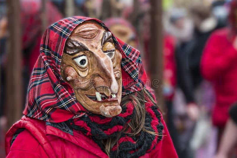 Partie de Carneval de sorcière images libres de droits