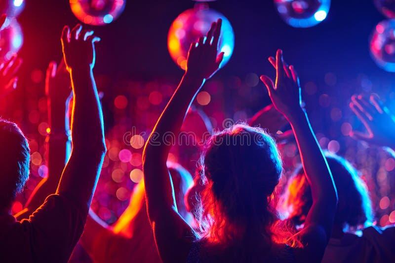 Partie de danse photo stock