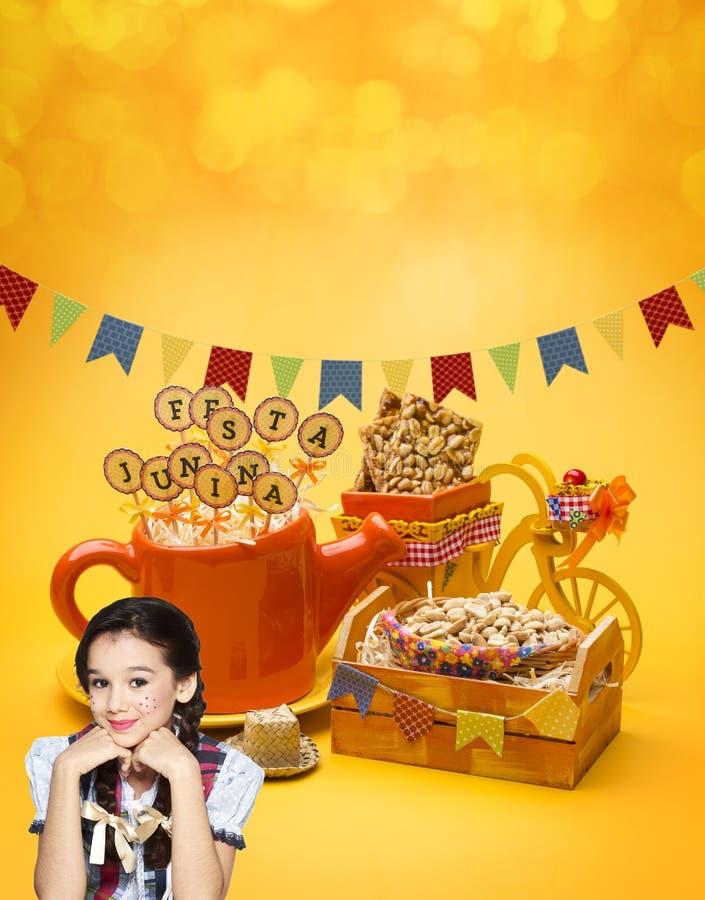 Partie de Festa Junina images stock