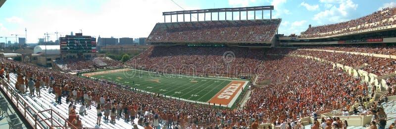 Partie de football de Texas Longhorns image stock