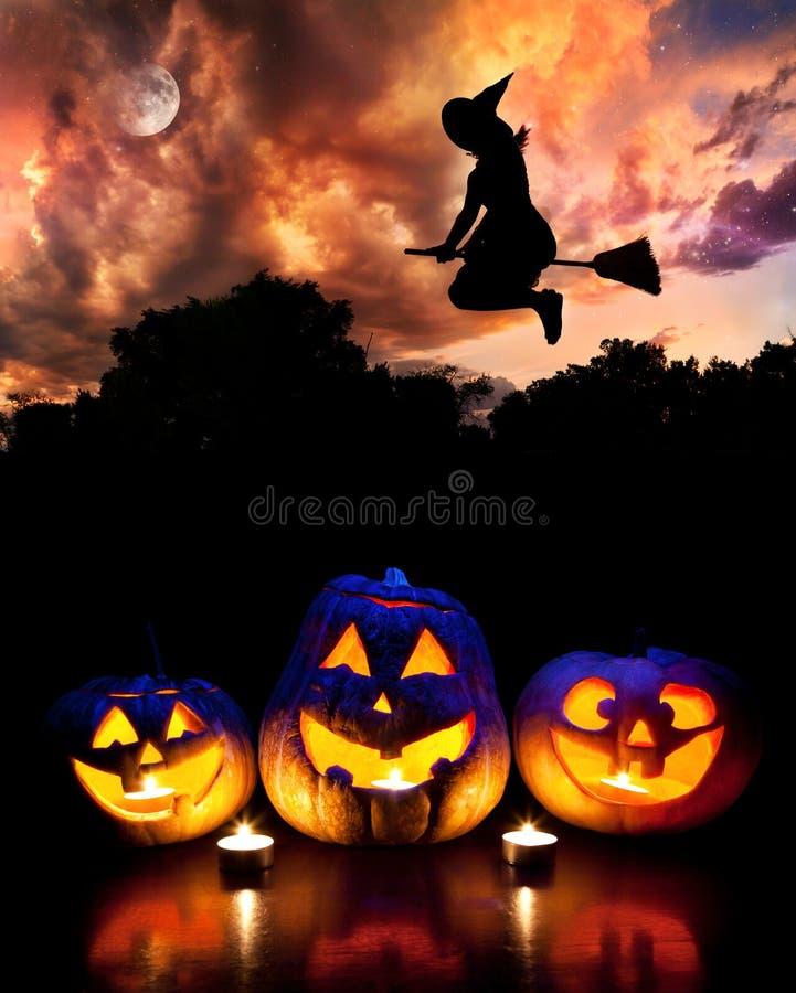 Partie de Halloween images libres de droits