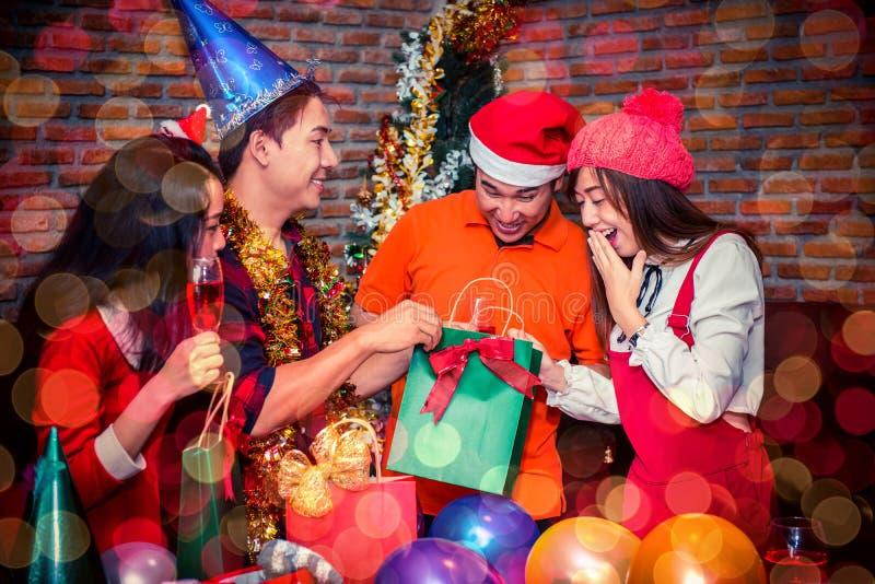 Partie de nouvelle année photographie stock libre de droits