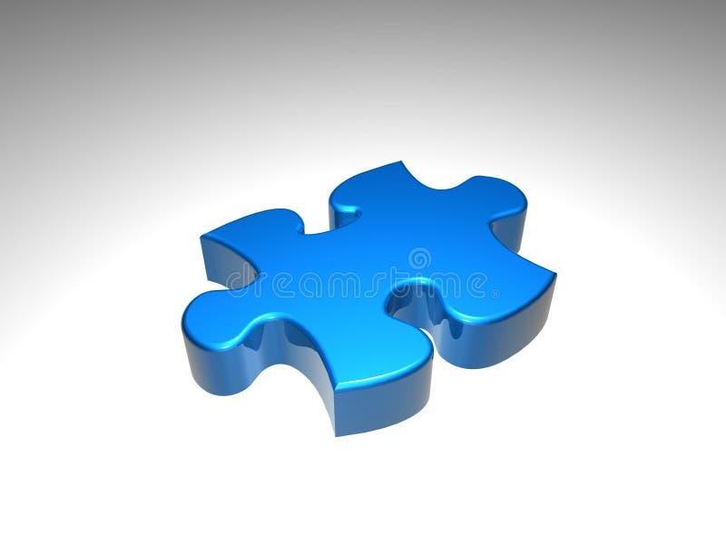 Partie de puzzle photo libre de droits