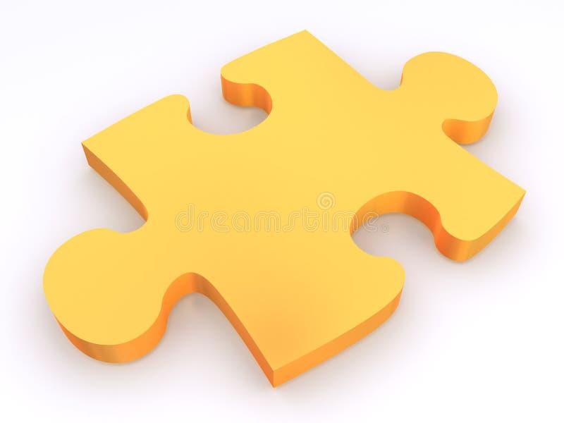 Partie de puzzle   illustration stock