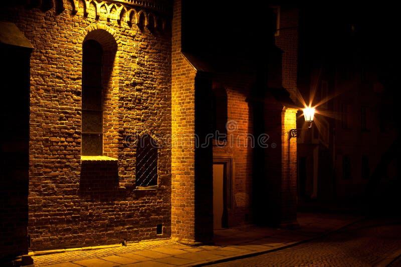 Partie de vue de nuit photo stock