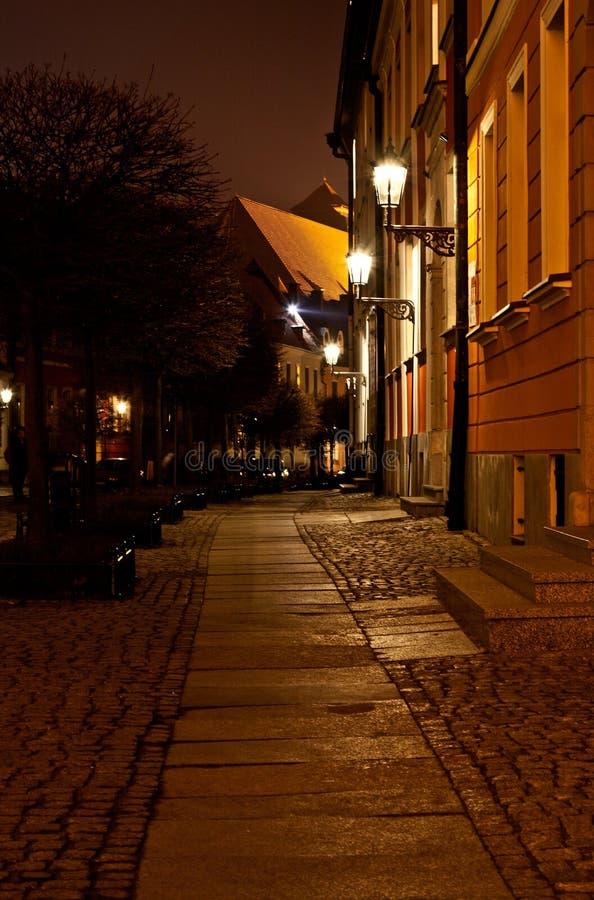 Partie 7 de vue de nuit photographie stock libre de droits