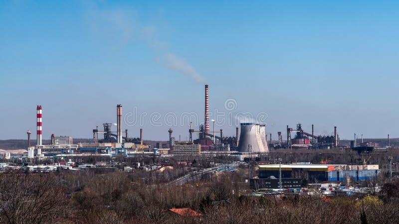 Partie métallique de Katowice images libres de droits