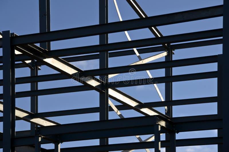 Partie métallique structurale images libres de droits