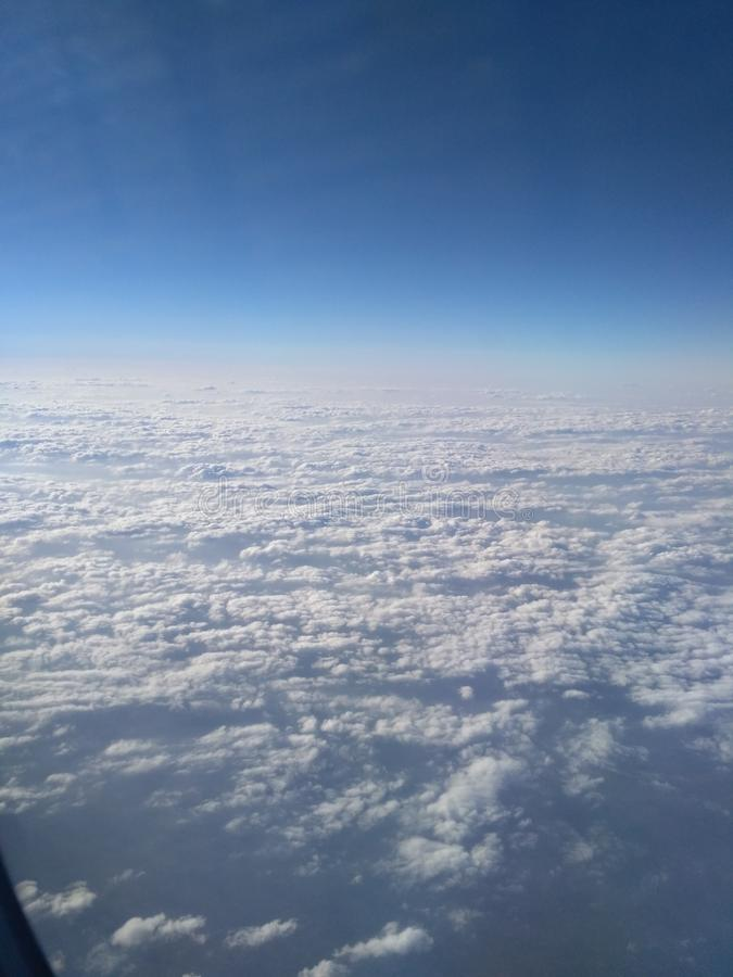 Partie supérieure de ciel images libres de droits