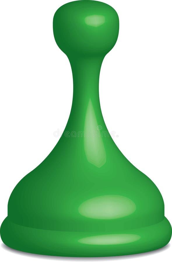 Partie verte de jeu illustration de vecteur