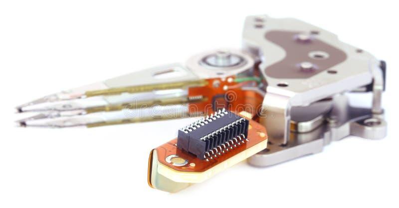 Parties d'un disque dur images libres de droits