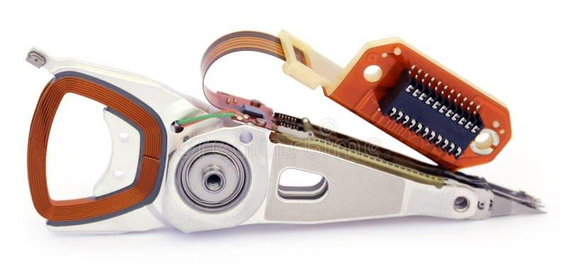 Parties d'un disque dur photo stock