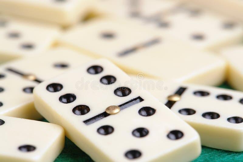 Parties de domino image libre de droits