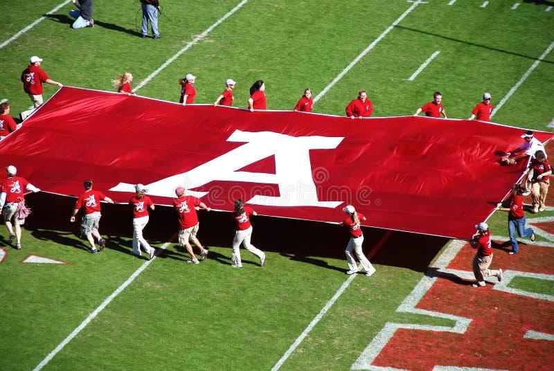 Parties de football de l'Alabama. image libre de droits