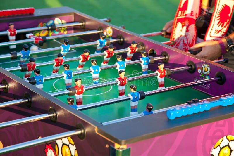 Parties de football de Tableau photos stock