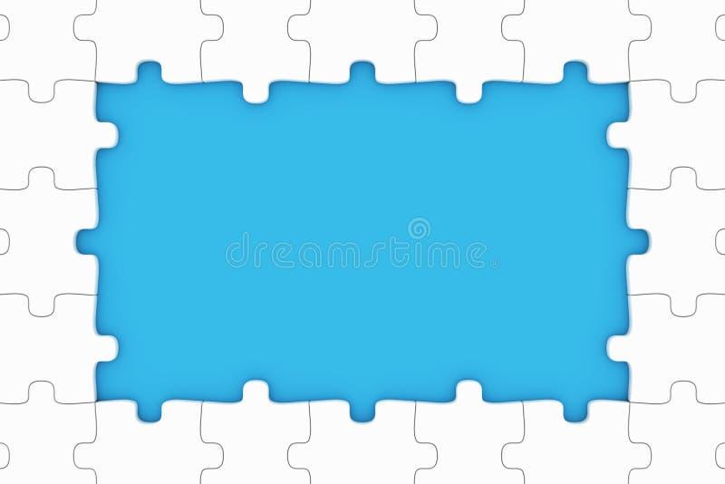 Parties de puzzle illustration libre de droits