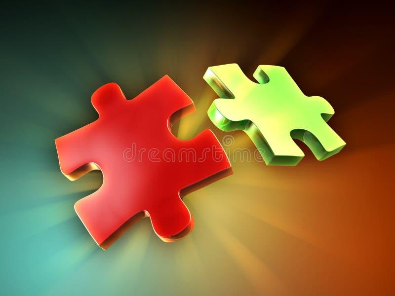 Download Parties De Puzzle Images stock - Image: 23495134