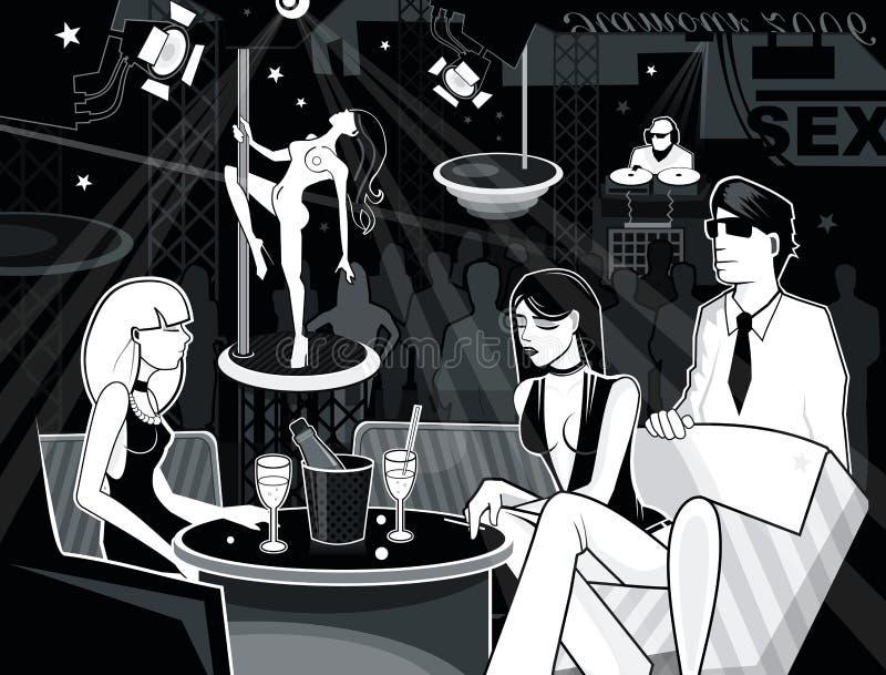 Partij stock illustratie