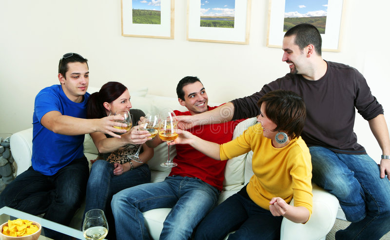 Partij stock fotografie