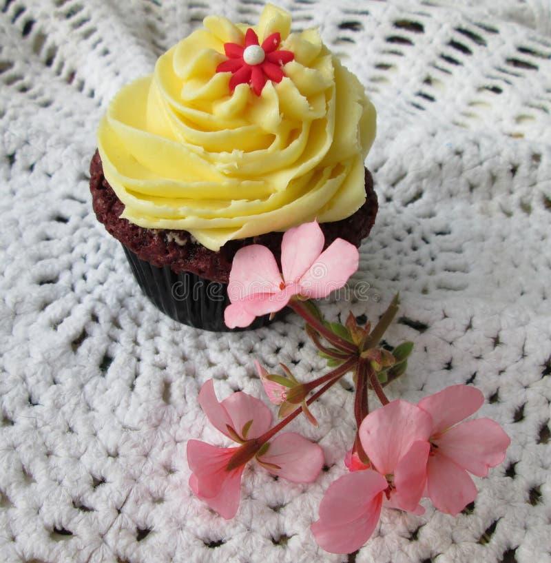 Partij Cupcake stock foto's