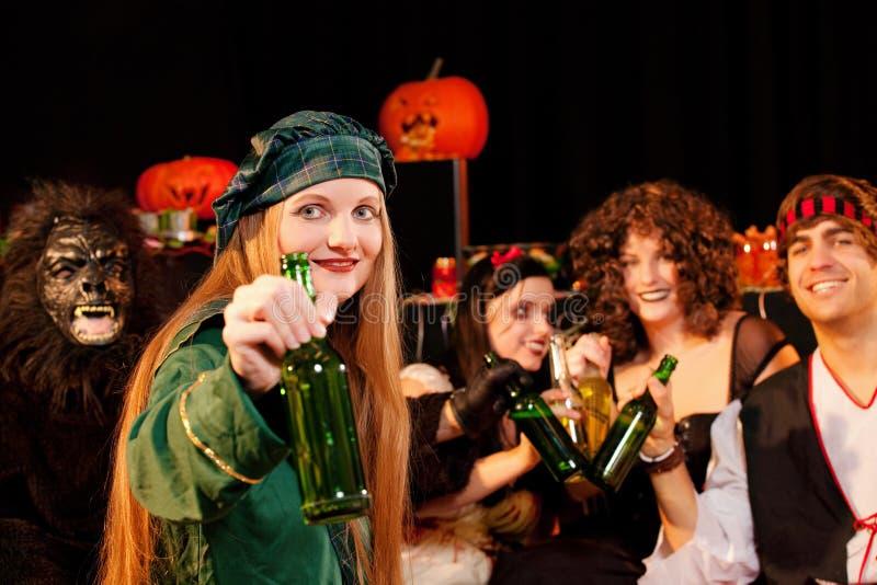 Partij voor Carnaval of Halloween stock fotografie
