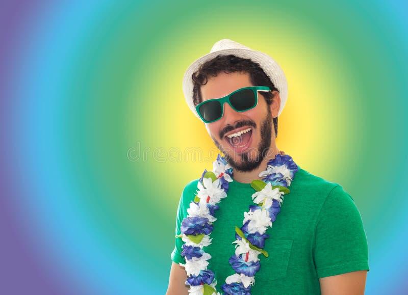 Partiman som är förberedd för karnevalet arkivfoto