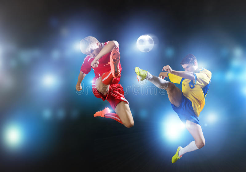 partita di football americano immagini stock libere da diritti