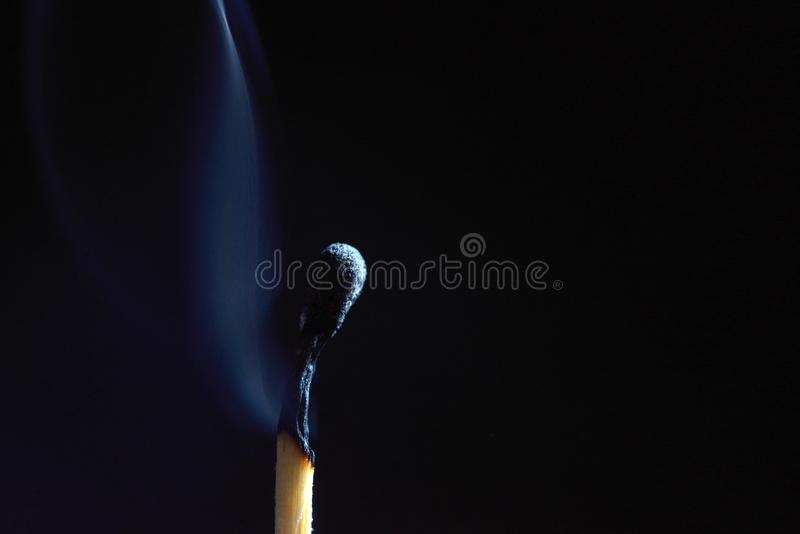 Partite di legno bruciate fotografia stock libera da diritti