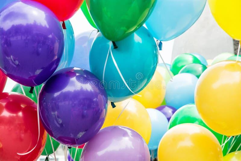 Partito dei palloni, attività di svago immagine stock libera da diritti