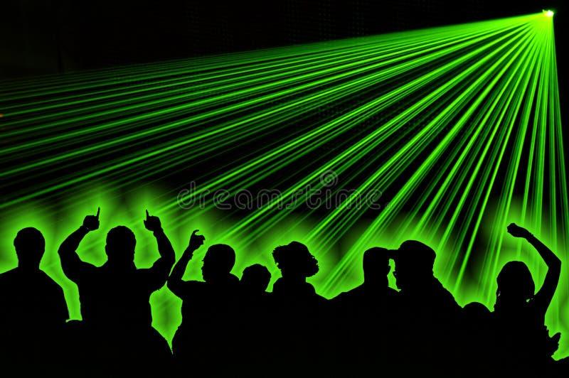 Partito del laser illustrazione vettoriale