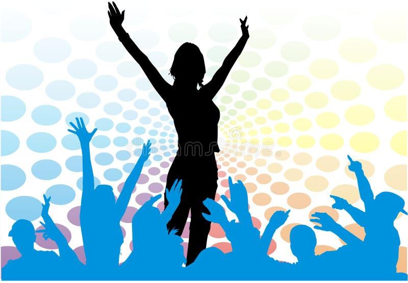Download Partito della gioventù illustrazione di stock. Illustrazione di persona - 3891084