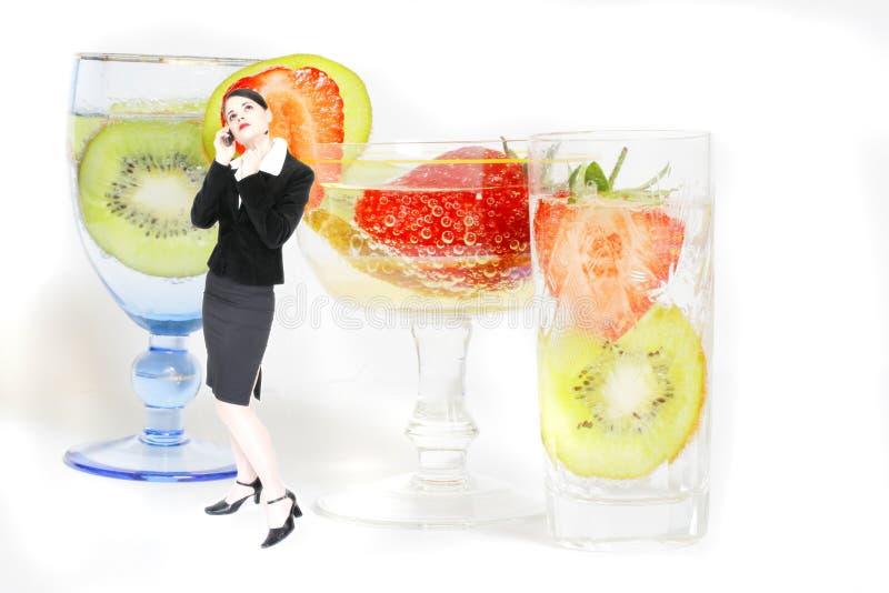 Partito di cocktail di affari fotografia stock libera da diritti