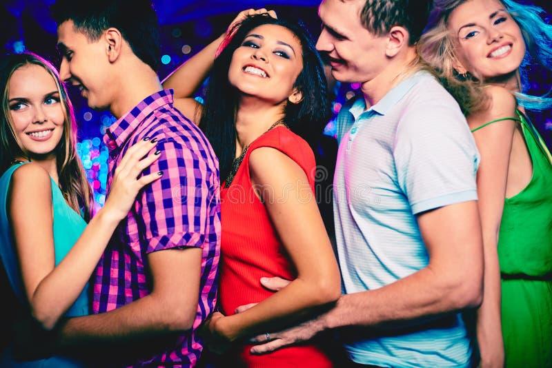 Partito di discoteca immagine stock libera da diritti