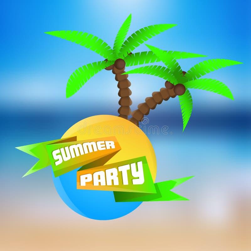 Partito di estate immagini stock