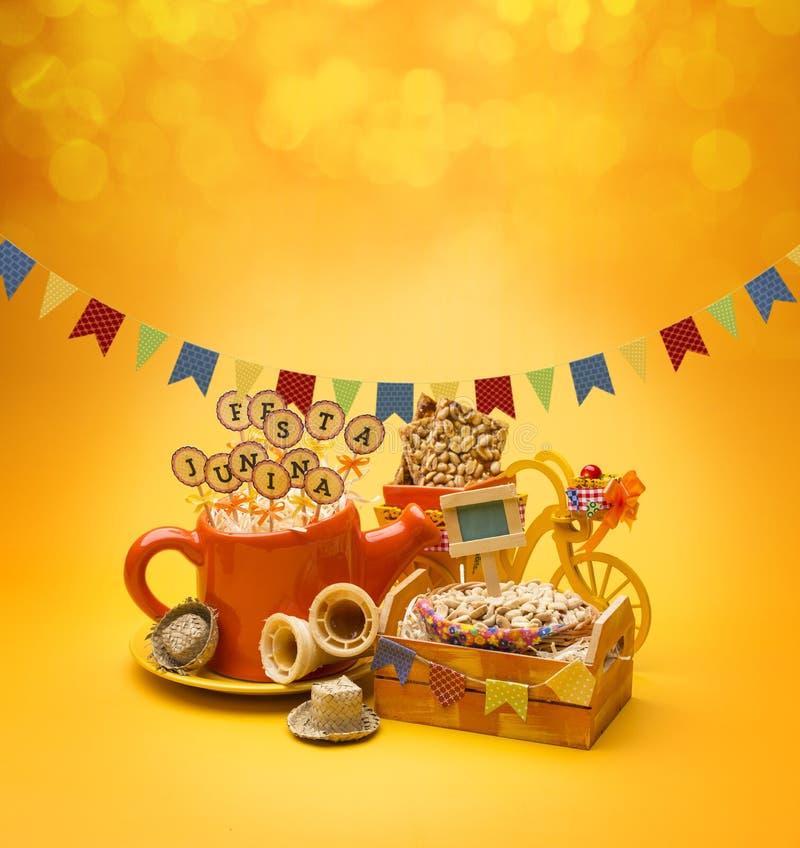 Partito di Festa Junina immagine stock