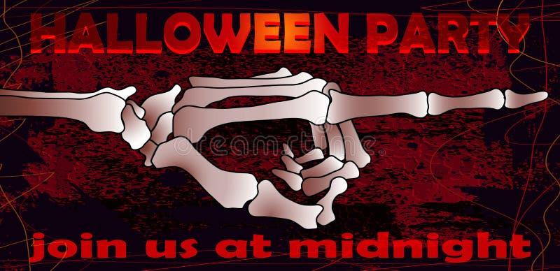 Partito 02 di Halloween illustrazione di stock