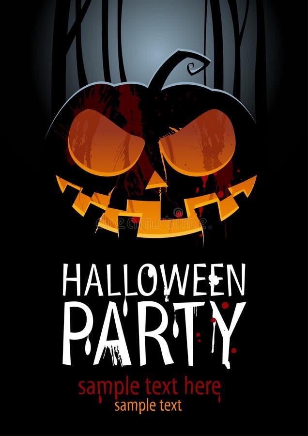 Partito di Halloween. illustrazione vettoriale