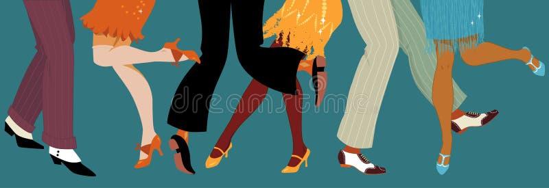 partito di stile degli anni 20 royalty illustrazione gratis