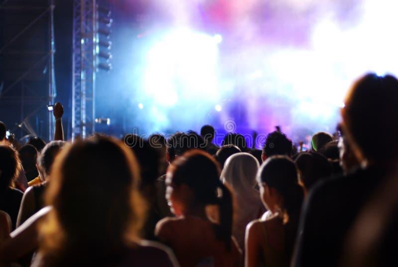 Partito di vita di notte fotografie stock libere da diritti